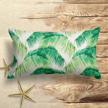 Load image into Gallery viewer, Tahitian Green (Tropico Green) Lumbar Pillows 22 x 12 (1 pk) - Shop Baby Slings & wraps, Baby Bedding & Home Decor !