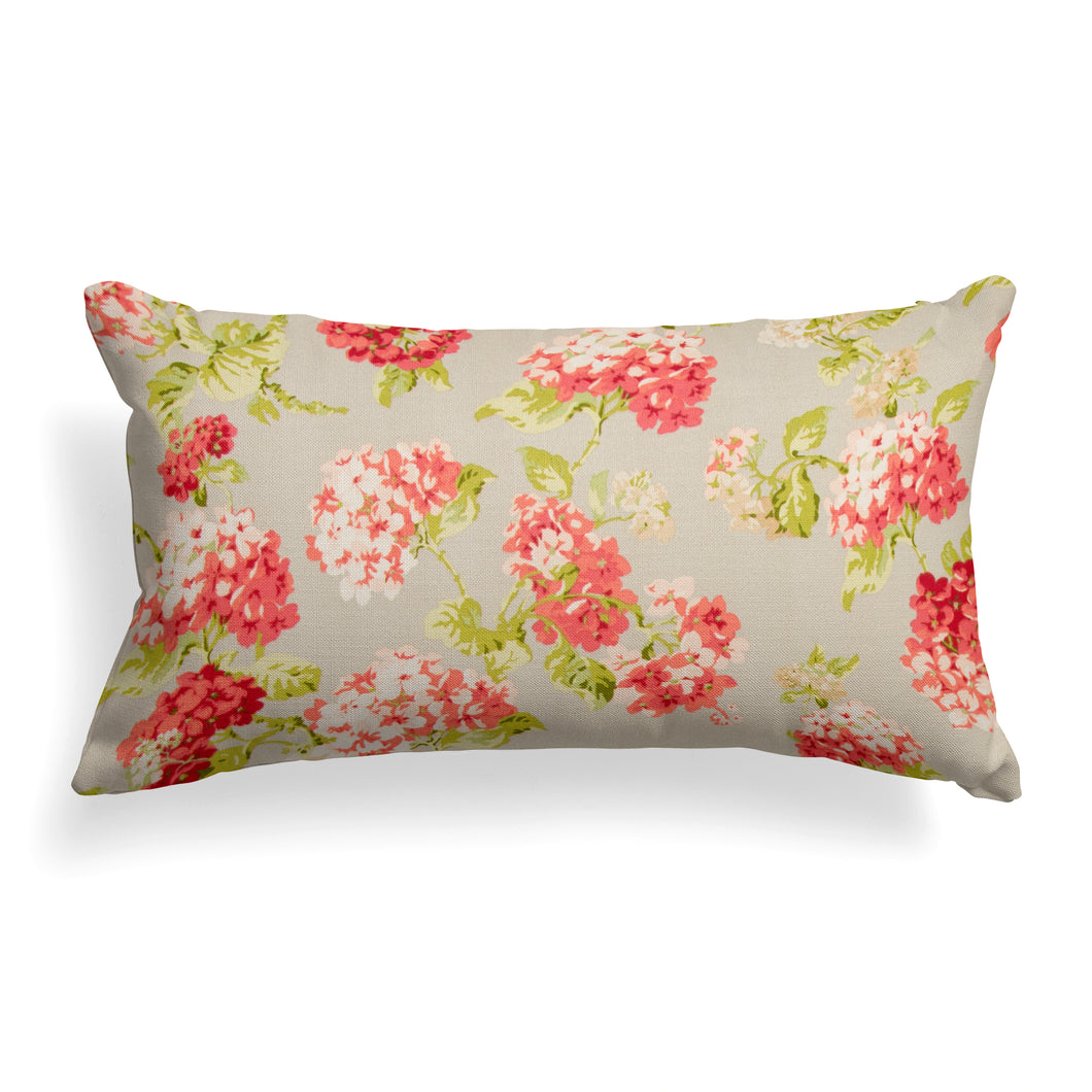 Summer Garden (May Flowers) Lumbar Pillow 22