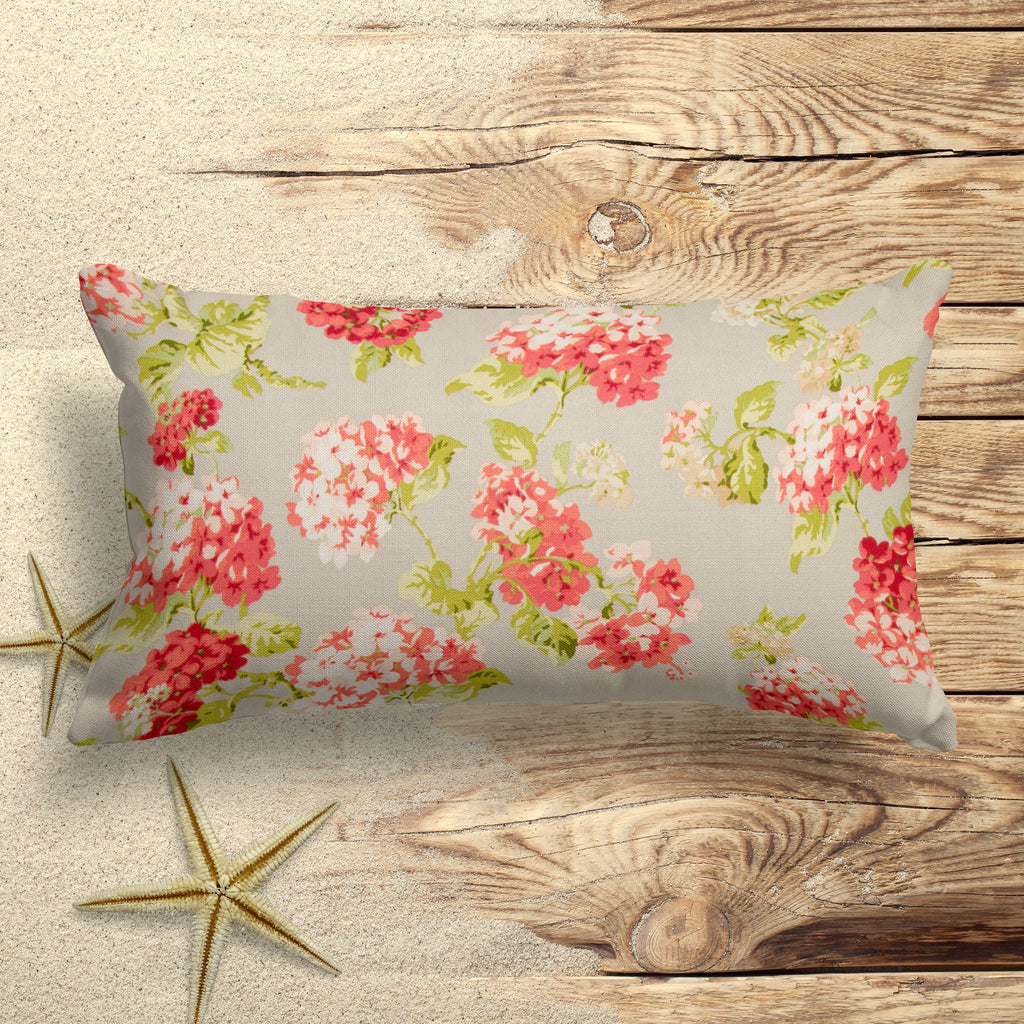 "Summer Garden (May Flowers) Lumbar Pillow 22"" x 12"" - Shop Baby Slings & wraps, Baby Bedding & Home Decor !"
