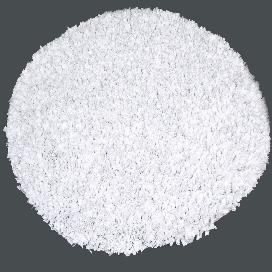 White Round Rug (4x4) - Shop Baby Slings & wraps, Baby Bedding & Home Decor !
