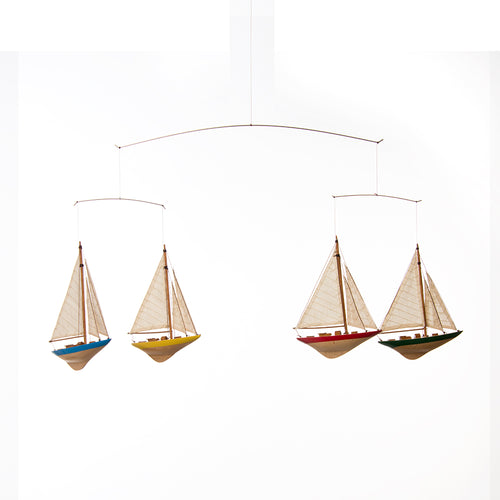 Sailboat Ceiling Mobile (36.5x1.5x12.5