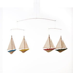 "Sailboat Ceiling Mobile (36.5x1.5x12.5"") - Shop Baby Slings & wraps, Baby Bedding & Home Decor !"