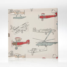 Load image into Gallery viewer, FLY-BY 3PC SET (INCLUDES QUILT, GREY DOT SHEET, CRIB SKIRT) - Shop Baby Slings & wraps, Baby Bedding & Home Decor !
