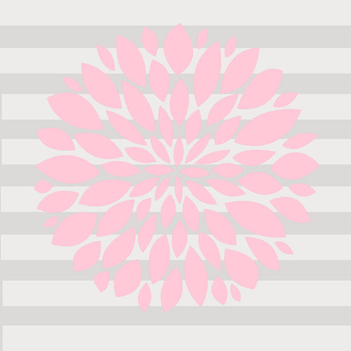 Swizzle Pink Wall Decal - Light Pink - Shop Baby Slings & wraps, Baby Bedding & Home Decor !