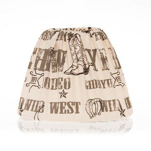 "Carson Cowboy Print Shade (12x12x24"") - Shop Baby Slings & wraps, Baby Bedding & Home Decor !"