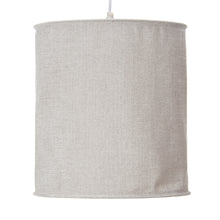 Load image into Gallery viewer, Twiggy Hanging Drum Shade - Grey Sparkly Velvet - Shop Baby Slings & wraps, Baby Bedding & Home Decor !