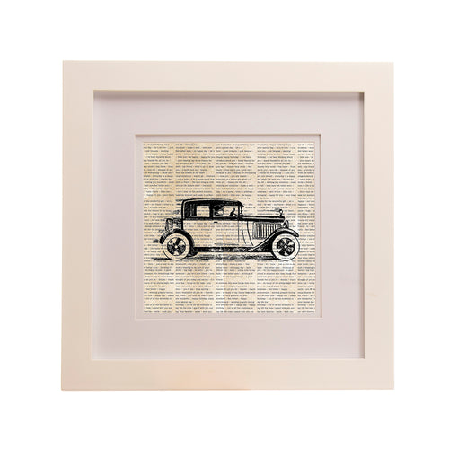 Traffic Jam Framed Wall Art Print, Roadster - Shop Baby Slings & wraps, Baby Bedding & Home Decor !