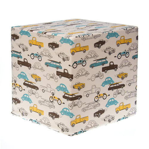 Traffic Jam Pouf - Shop Baby Slings & wraps, Baby Bedding & Home Decor !