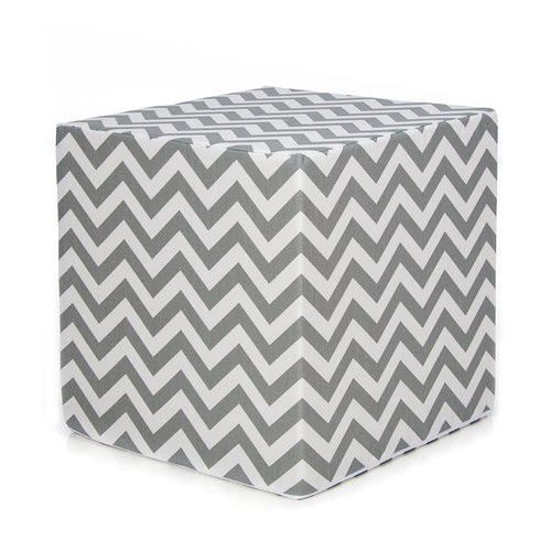 Swizzle Purple  Decorative Pouf Ottoman-Grey - Shop Baby Slings & wraps, Baby Bedding & Home Decor !