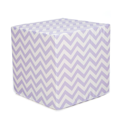 Swizzle Purple  Decorative Pouf Ottoman - Shop Baby Slings & wraps, Baby Bedding & Home Decor !