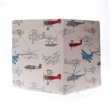Load image into Gallery viewer, Fly-by Airplane Print Pouf - Shop Baby Slings & wraps, Baby Bedding & Home Decor !