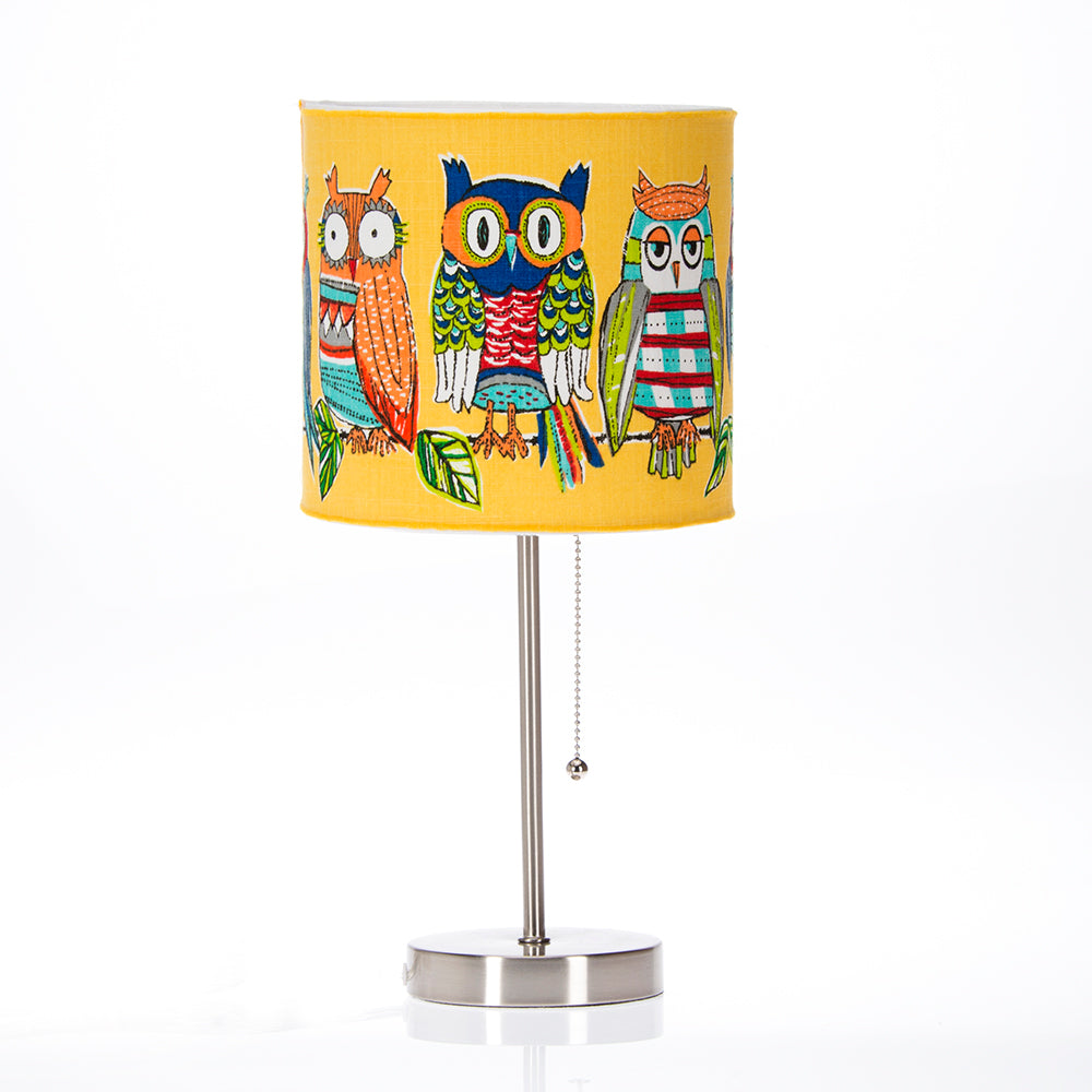 Lil Hoot Mod Lamp & Shade - Shop Baby Slings & wraps, Baby Bedding & Home Decor !