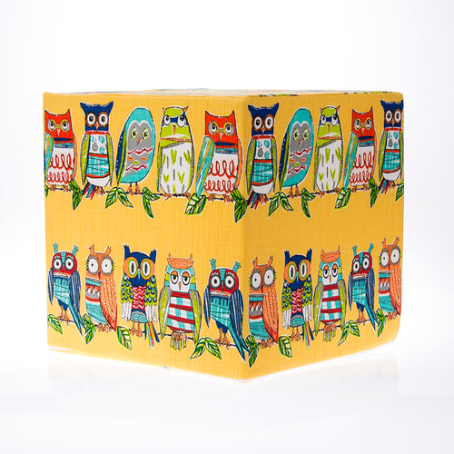 Lil Hoot Print Pouf - Shop Baby Slings & wraps, Baby Bedding & Home Decor !