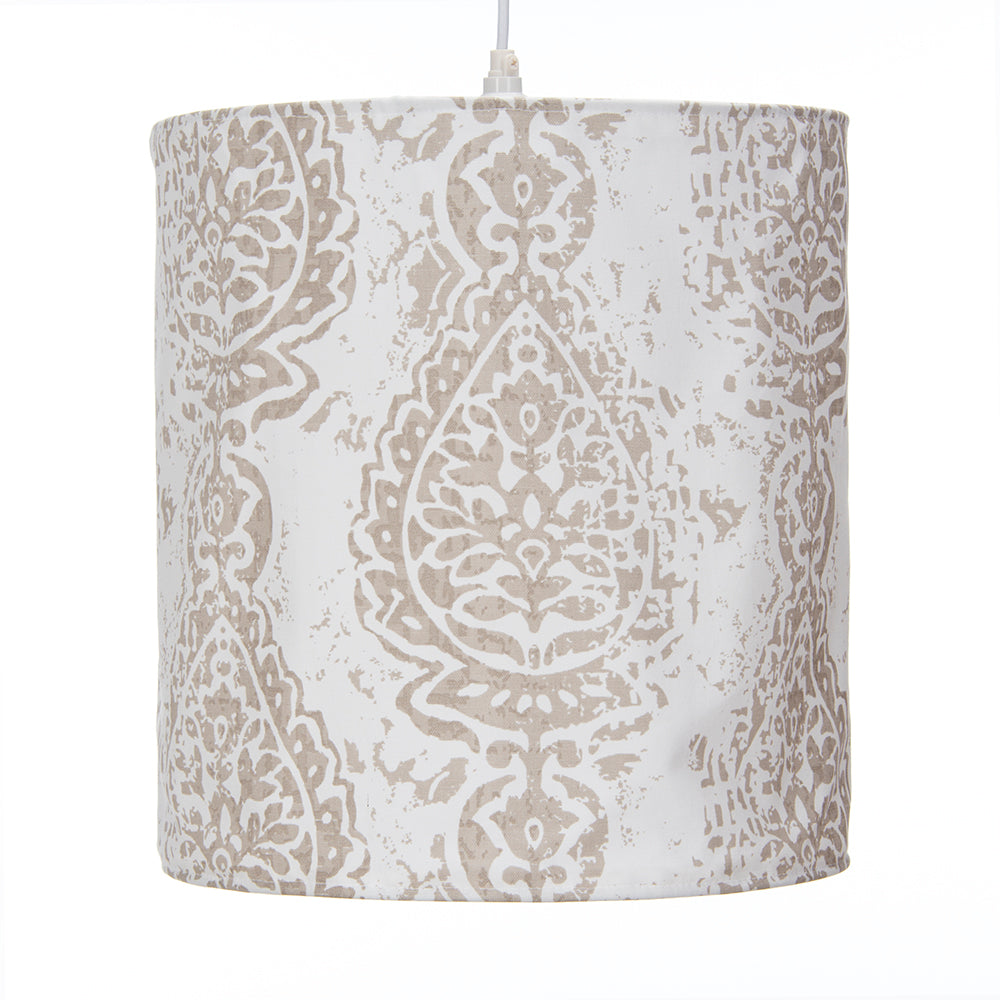 Soho Hanging Drum Shade  Fretwork - Shop Baby Slings & wraps, Baby Bedding & Home Decor !