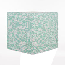 Load image into Gallery viewer, Soho Pouf, Aqua Print - Shop Baby Slings & wraps, Baby Bedding & Home Decor !