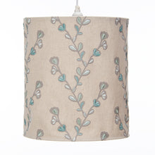 Load image into Gallery viewer, Twiggy Hanging Drum Shade - Velvet Twig Embroidery - Shop Baby Slings & wraps, Baby Bedding & Home Decor !