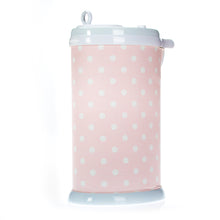 Load image into Gallery viewer, Charlotte Ubbi Diaper Pail Cover - Pink Dot - Shop Baby Slings & wraps, Baby Bedding & Home Decor !