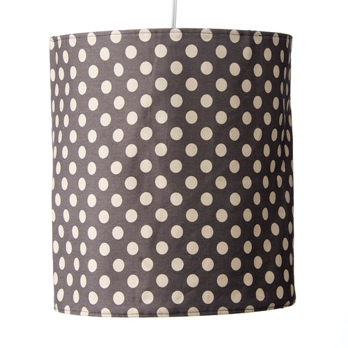 North Country Hanging Drum Shade-Grey Dot - Shop Baby Slings & wraps, Baby Bedding & Home Decor !
