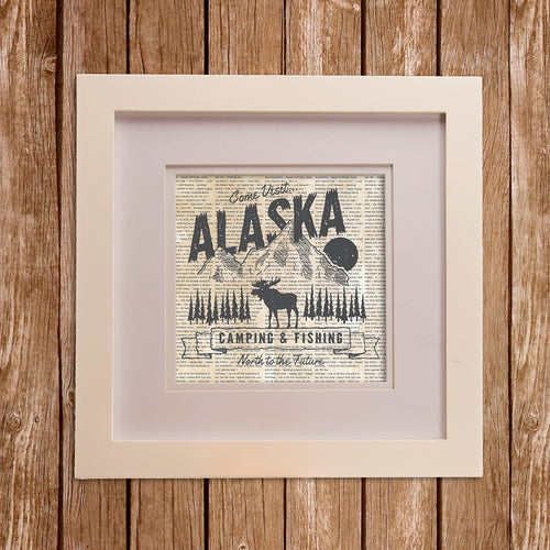 North Country Wall Art- Alaska - Shop Baby Slings & wraps, Baby Bedding & Home Decor !