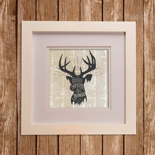 North Country Wall Art- Buck - Shop Baby Slings & wraps, Baby Bedding & Home Decor !