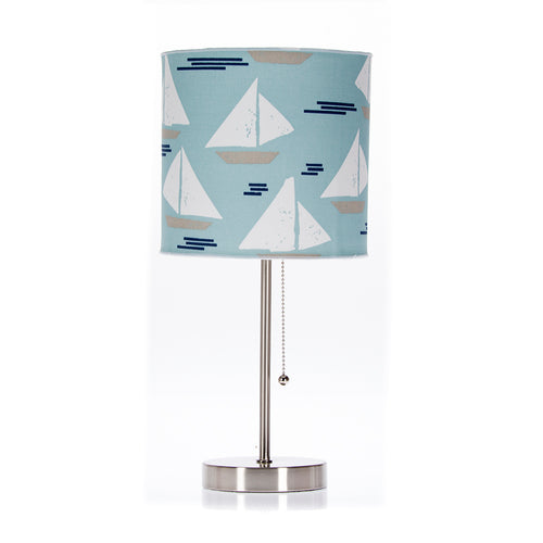 Little Sail Boat Mod Lamp &  Shade (Sail Boat) (60W) - Shop Baby Slings & wraps, Baby Bedding & Home Decor !
