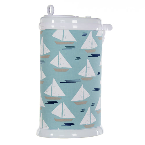 Little Sail Boat Ubbi Diaper Pail Cover (Sail Boat) - Shop Baby Slings & wraps, Baby Bedding & Home Decor !