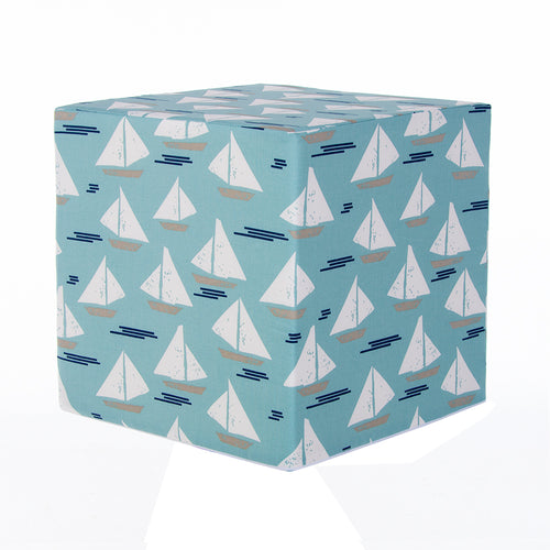 Little Sail Boat  Pouf (Sailboat) - Shop Baby Slings & wraps, Baby Bedding & Home Decor !