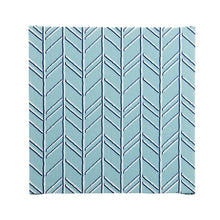 Load image into Gallery viewer, Happy Camper Wall Art-Blue Geometric - Shop Baby Slings & wraps, Baby Bedding & Home Decor !