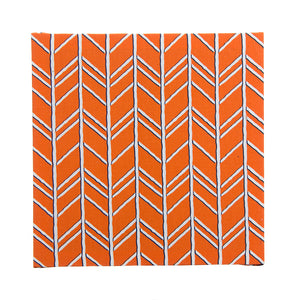 Happy Camper Wall Art-Orange Geometric - Shop Baby Slings & wraps, Baby Bedding & Home Decor !