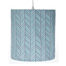 Load image into Gallery viewer, Happy Camper Hanging Drum Shade-Blue - Shop Baby Slings & wraps, Baby Bedding & Home Decor !