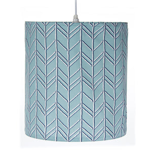 Happy Camper Hanging Drum Shade-Blue - Shop Baby Slings & wraps, Baby Bedding & Home Decor !