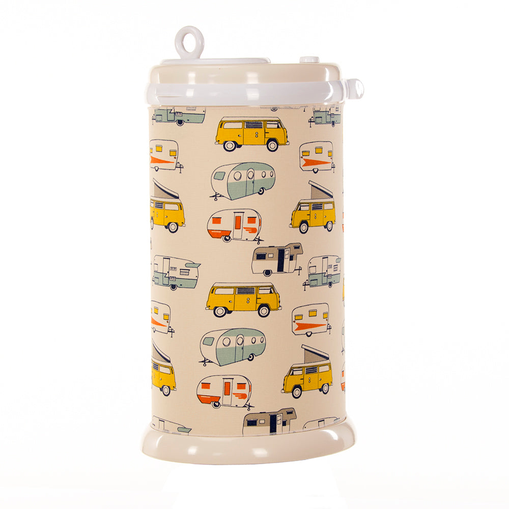 Happy Camper Ubbi Diaper Pail Cover - Shop Baby Slings & wraps, Baby Bedding & Home Decor !