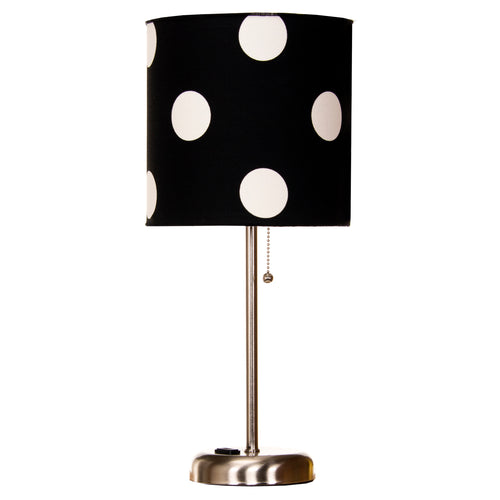 Apollo  Mod Lamp with Cloth Shade - Shop Baby Slings & wraps, Baby Bedding & Home Decor !