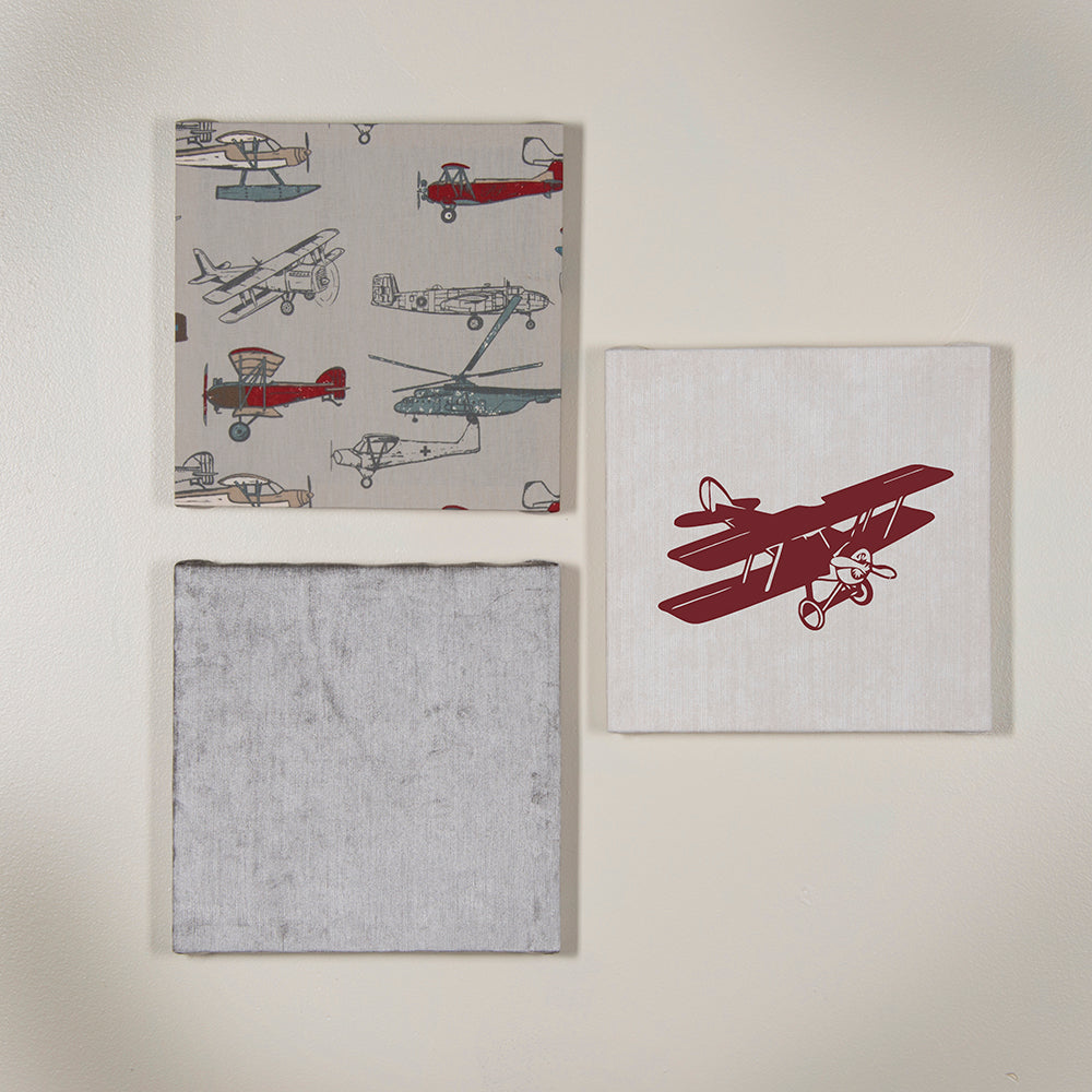 Fly-By Wall Art, Grey - Shop Baby Slings & wraps, Baby Bedding & Home Decor !