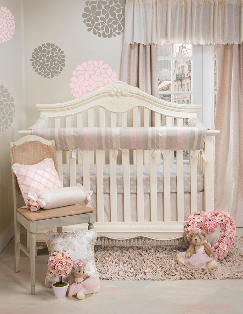 Florence Crib Rail Protector - Shop Baby Slings & wraps, Baby Bedding & Home Decor !