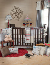 Load image into Gallery viewer, Fly-By Pillow, Cream Houndstooth - Shop Baby Slings & wraps, Baby Bedding & Home Decor !