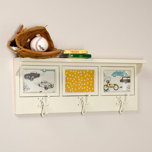 Traffic Jam Photo Hanger Shelf - Shop Baby Slings & wraps, Baby Bedding & Home Decor !