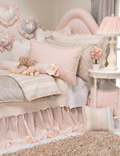Load image into Gallery viewer, Contessa Small Sham (Pink Moire) - Shop Baby Slings & wraps, Baby Bedding & Home Decor !