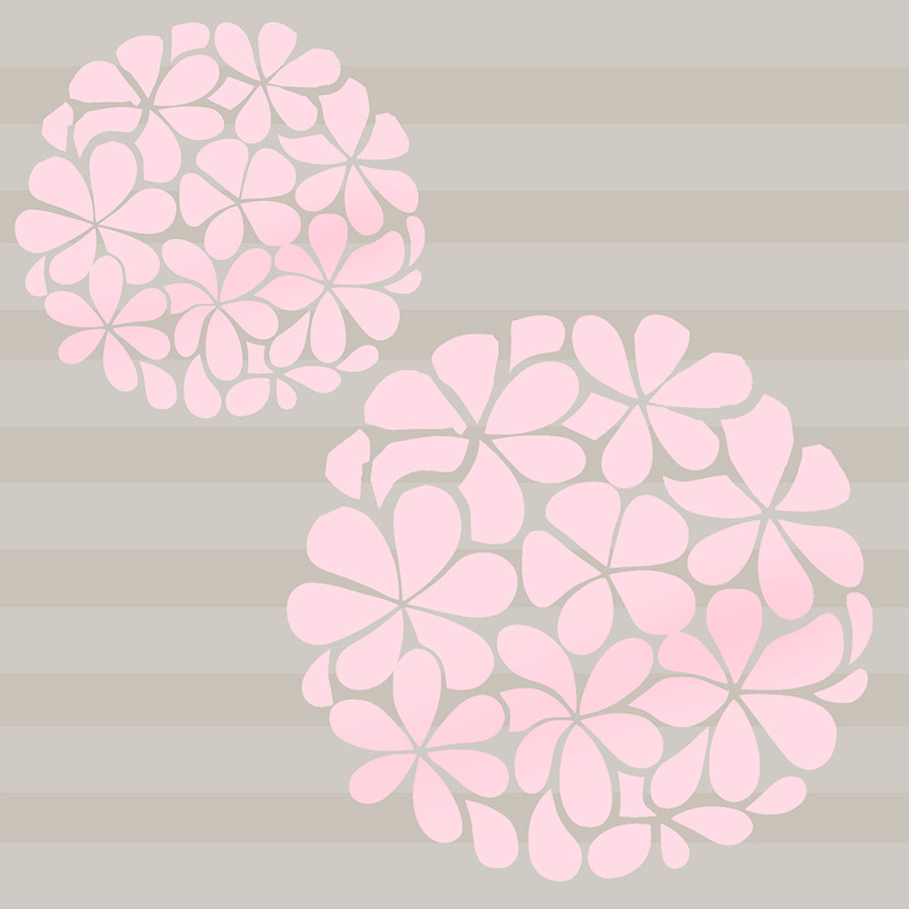 Pink Flower Balls Decal - Shop Baby Slings & wraps, Baby Bedding & Home Decor !