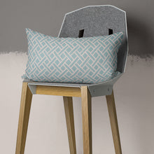 "Load image into Gallery viewer, Fusion Aqua 14""x24"" Lumbar Pillow - Shop Baby Slings & wraps, Baby Bedding & Home Decor !"