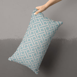 "Fusion Aqua 14""x24"" Lumbar Pillow - Shop Baby Slings & wraps, Baby Bedding & Home Decor !"