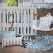 Load image into Gallery viewer, Ollie & Jack Pillow- stripe - Shop Baby Slings & wraps, Baby Bedding & Home Decor !