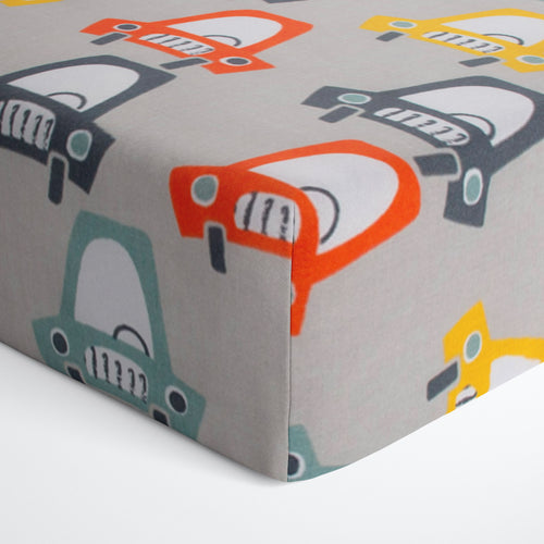 Hooptie Fitted Sheet Car Print