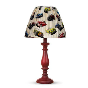 "Fast Track Red Lamp Base with Car Shade (12x12x24"")(60W) - Shop Baby Slings & wraps, Baby Bedding & Home Decor !"