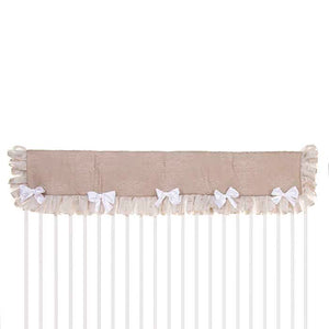 Hannah  Crib Rail Protector - Shop Baby Slings & wraps, Baby Bedding & Home Decor !