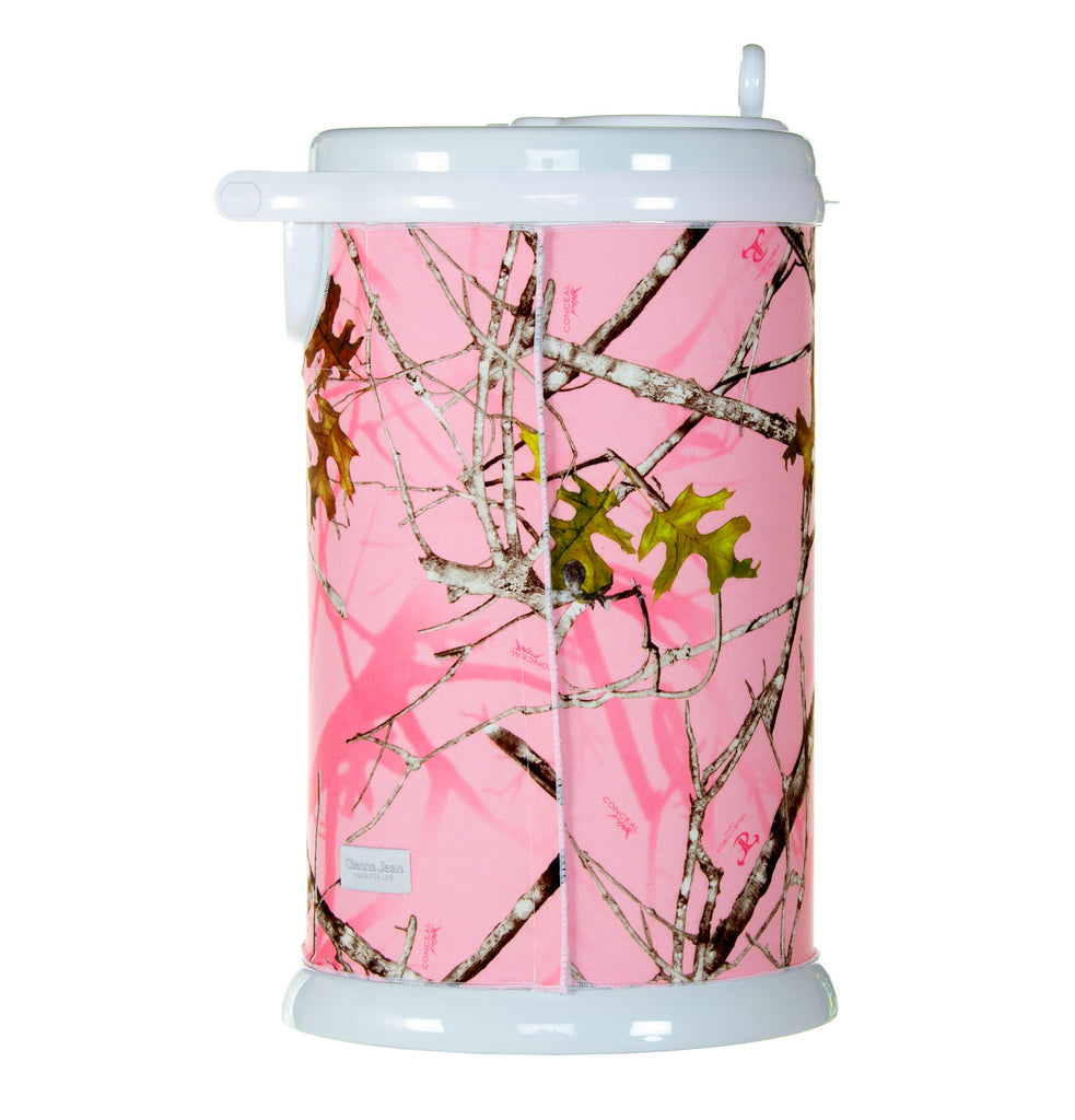 Camo Baby Pink Ubbi Diaper Pail Cover - Shop Baby Slings & wraps, Baby Bedding & Home Decor !