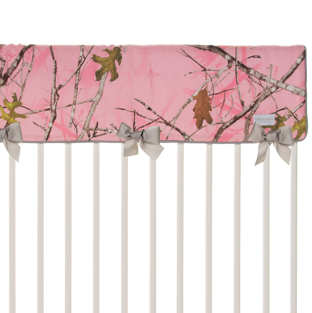 Camo Baby Pink  Crib Rail Protector - Shop Baby Slings & wraps, Baby Bedding & Home Decor !