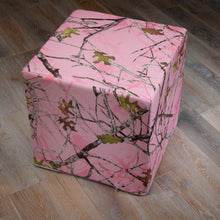 Load image into Gallery viewer, Camo Baby Pink Pouf - Shop Baby Slings & wraps, Baby Bedding & Home Decor !