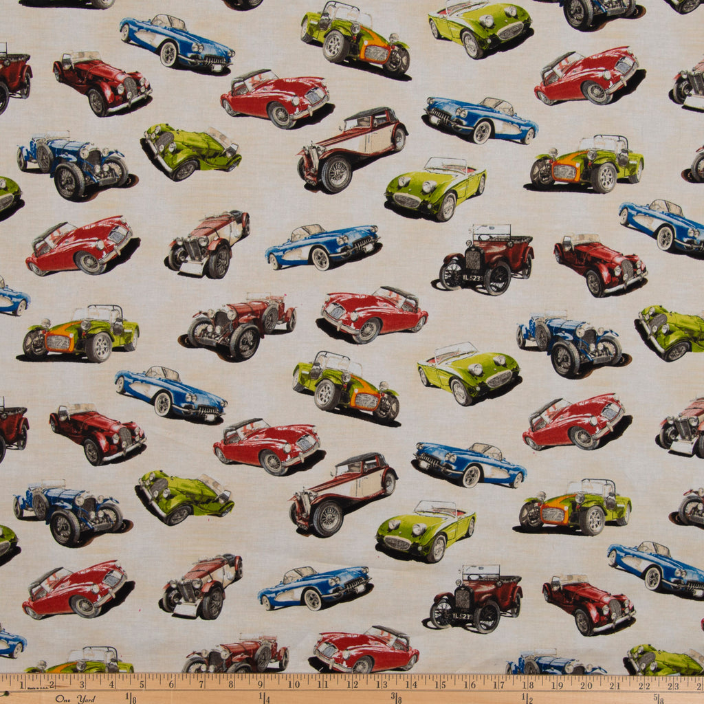 Fast Track Car Fabric