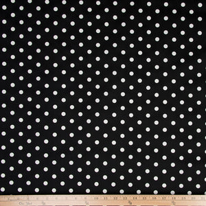 Pippin Black Dot Print Fabric - Shop Baby Slings & wraps, Baby Bedding & Home Decor !